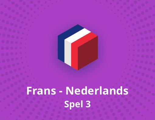 Taalspel Frans Nederlands spel 3