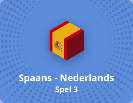 Taalspel Spaans Nederlands spel 3