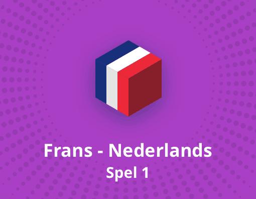 Taalspel Frans Nederlands spel 1