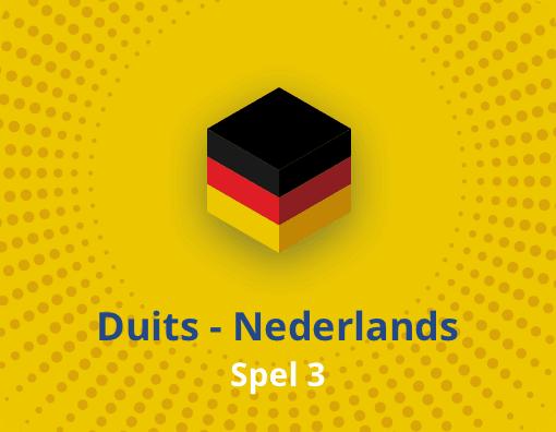 Taalspel Duits Nederlands spel 3