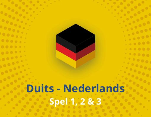 Taalspel Duits Nederlands spel 1,2 en 3