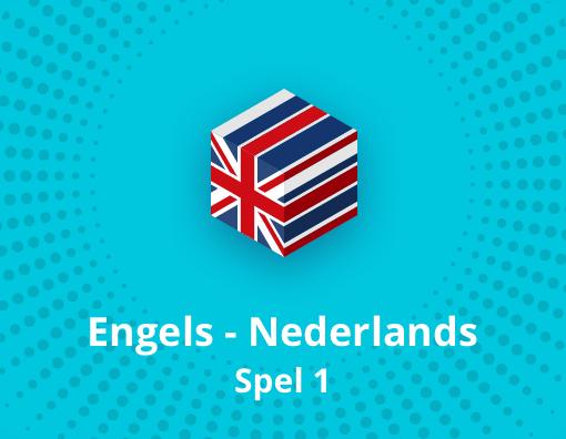 Taalspel Engels Nederlands spel 1