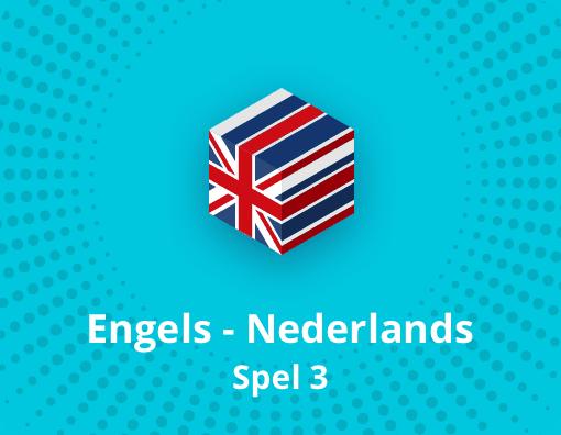 Taalspel Engels Nederlands spel 3