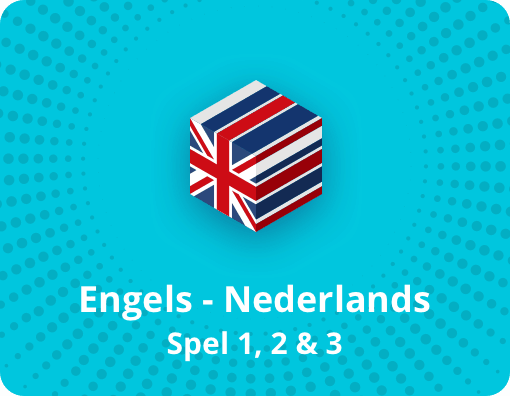 Taalspel Engels Nederlands spel 1,2 en 3