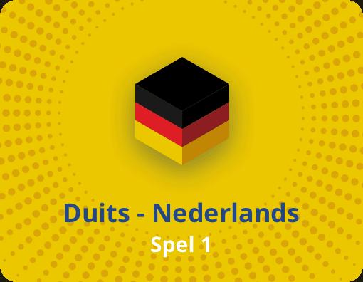 Taalspel Duits Nederlands spel 1