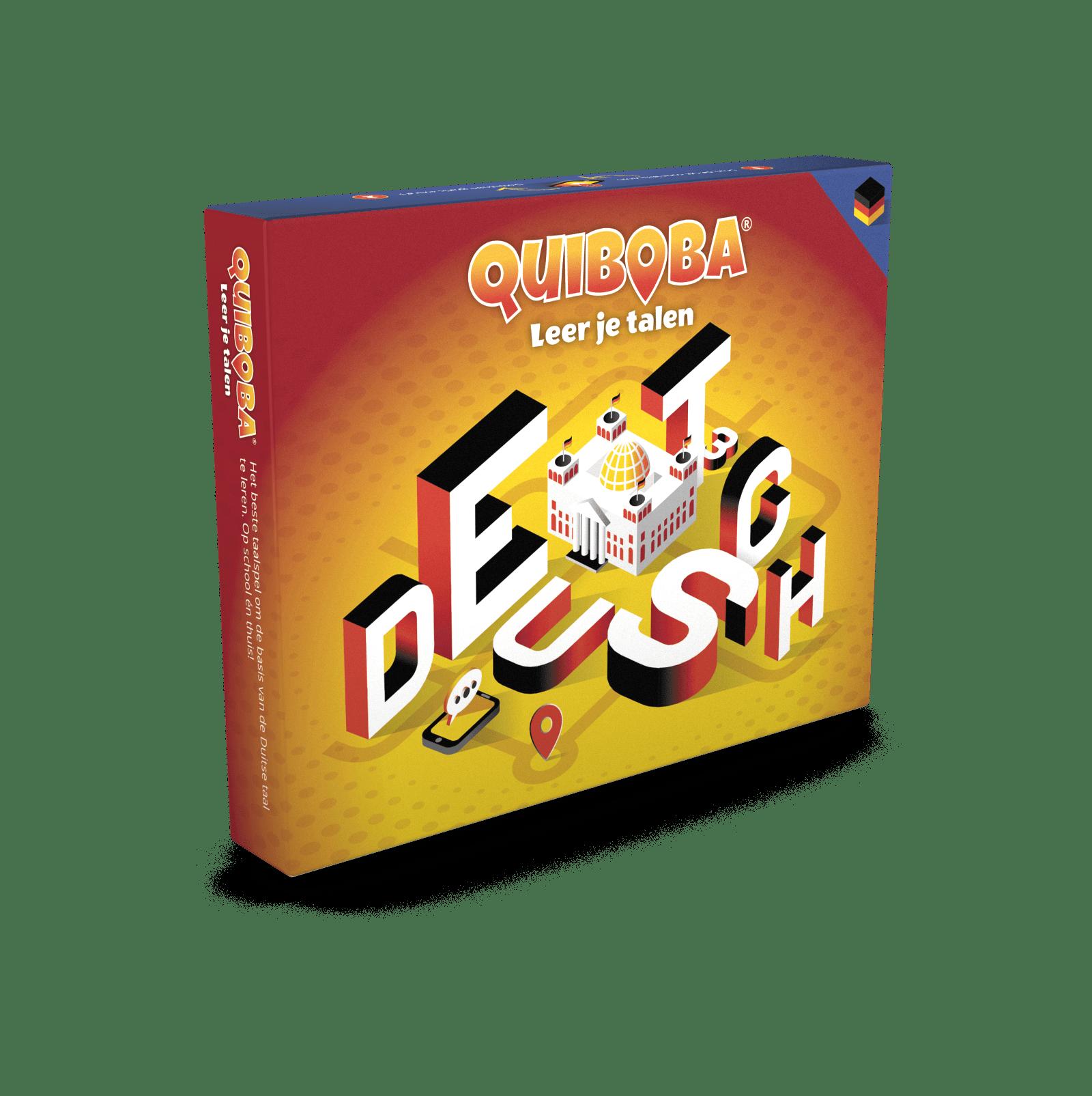 Quiboba Duits taal spel 3