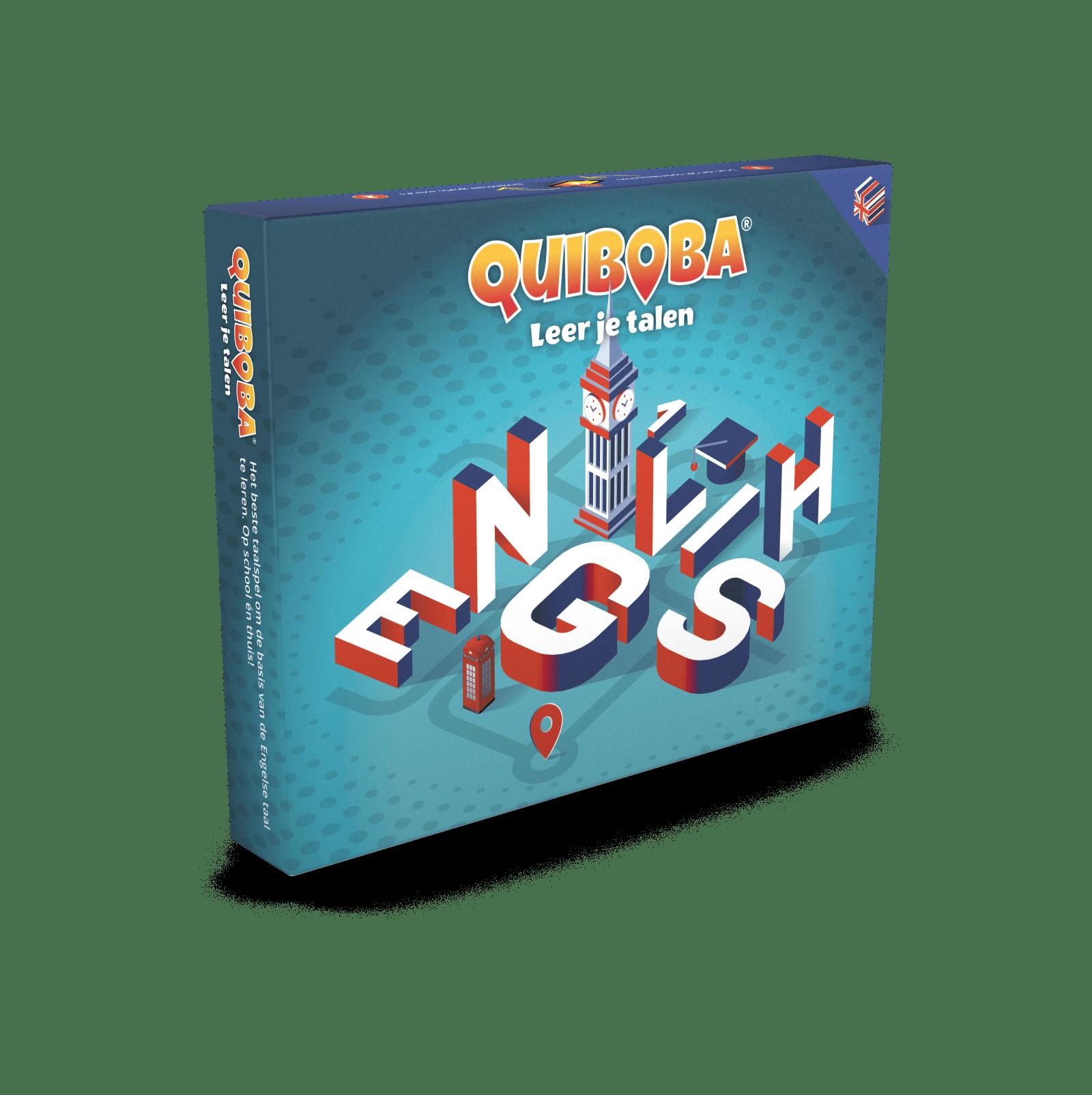 Quiboba Engels taalspel 1