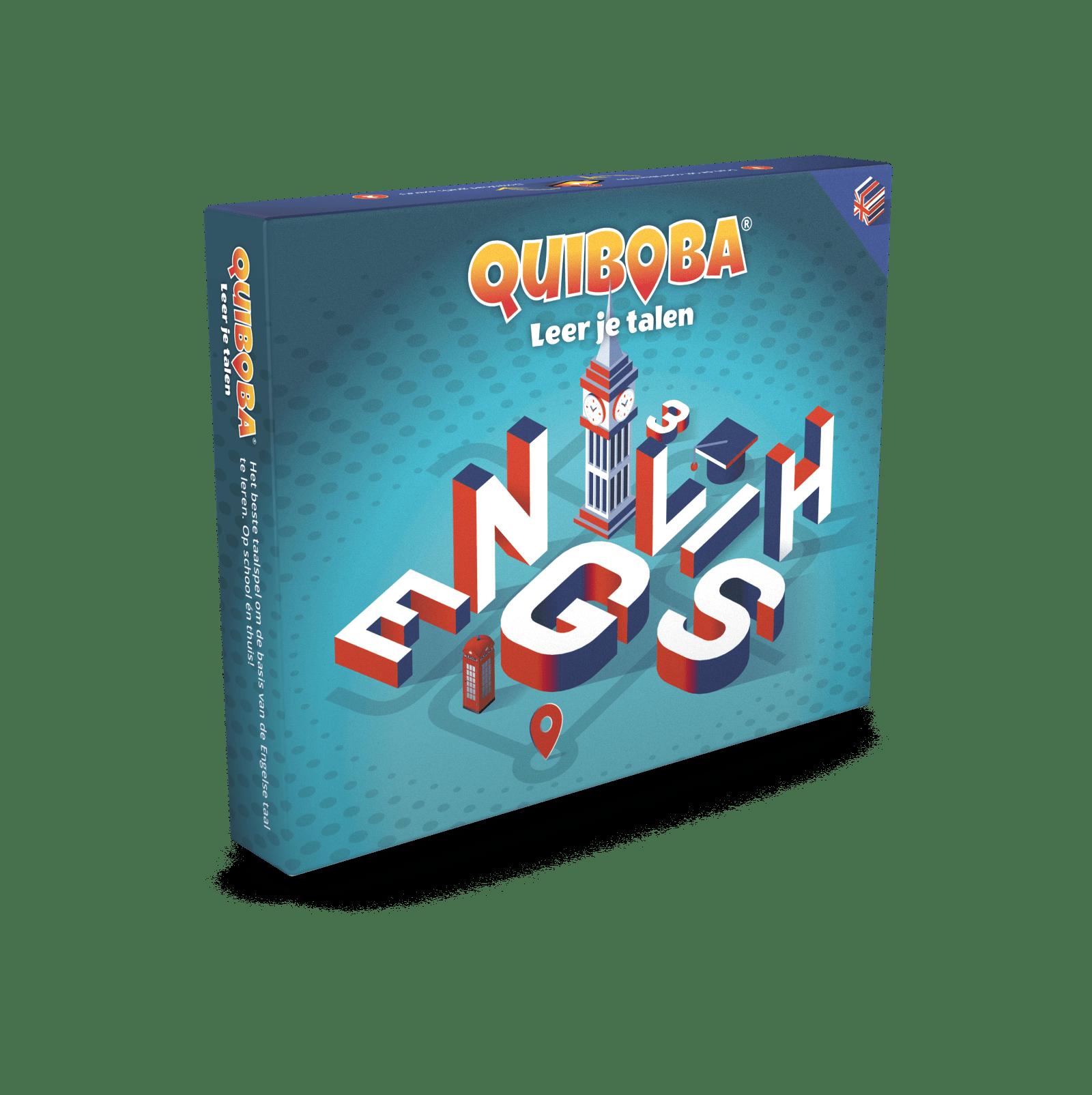 Quiboba Engels taalspel 3