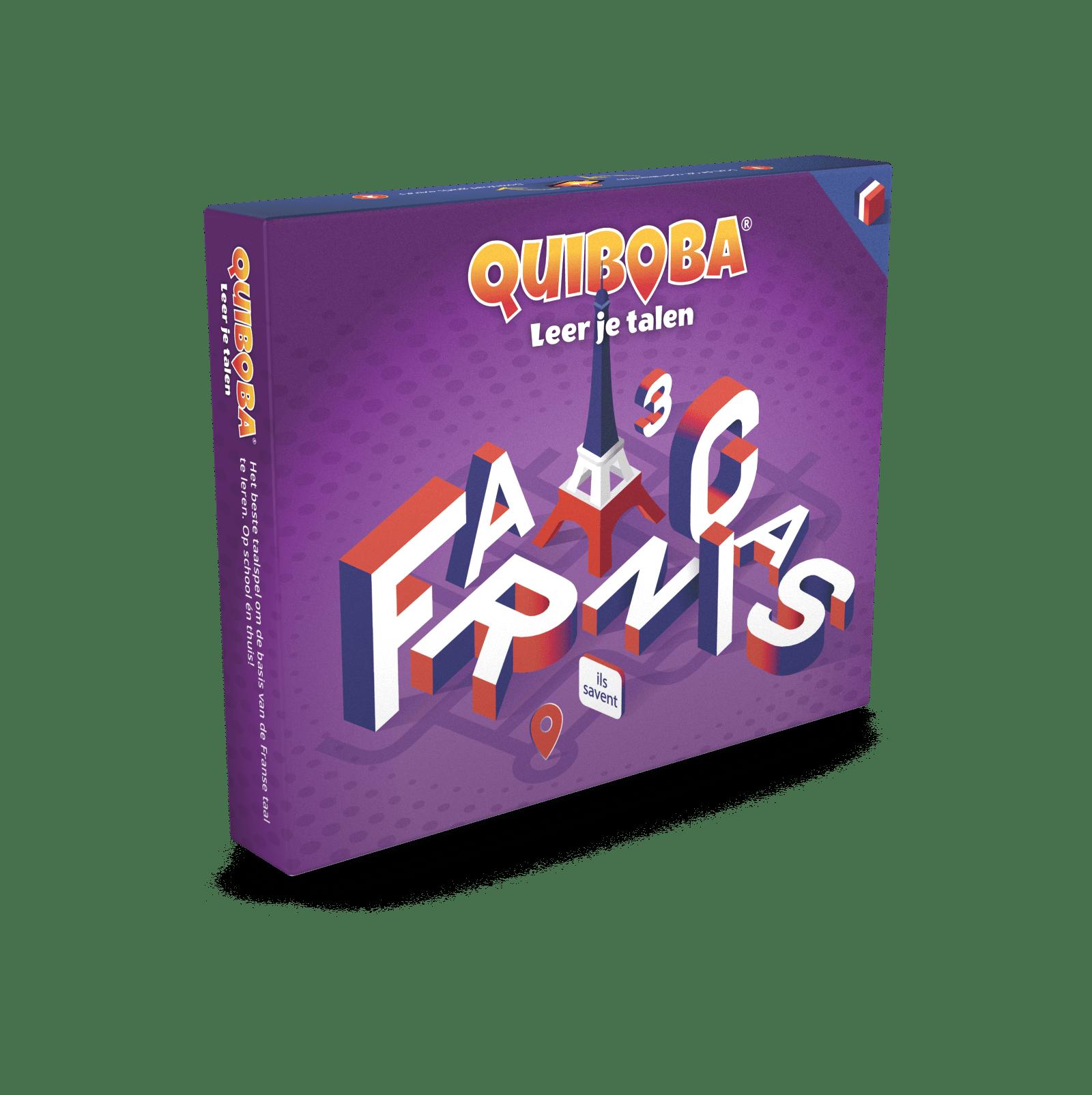 Quiboba Frans taalspel 3